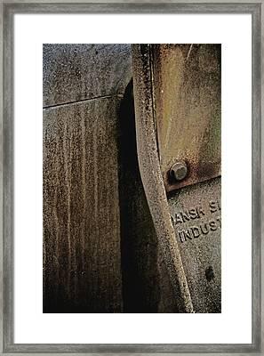Industrial Light Framed Print by Odd Jeppesen