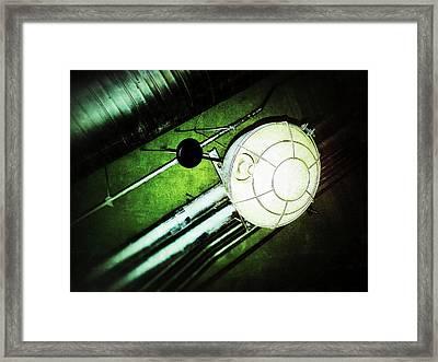 Industrial Light Framed Print by Olivier Calas