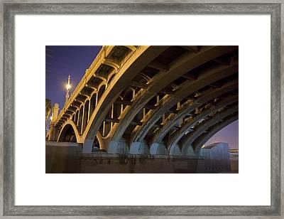 Industrial Ribs  Framed Print by Kevin  Break