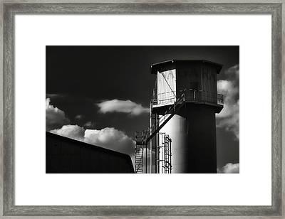 Industrial Silo, Mizuho Framed Print