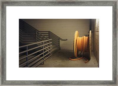 Industrial Still Life Framed Print