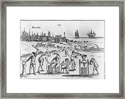 Industrious Americans Framed Print