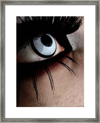 Infection Framed Print by Kalie Hoodhood