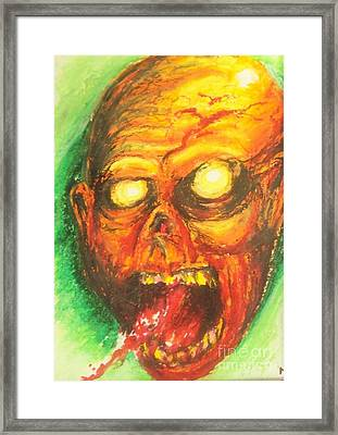 Infection Framed Print by Matt Detmer