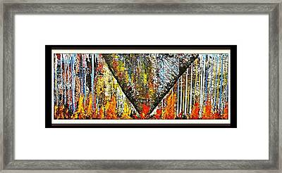 Inferno 2 Framed Print by Robert Anderson