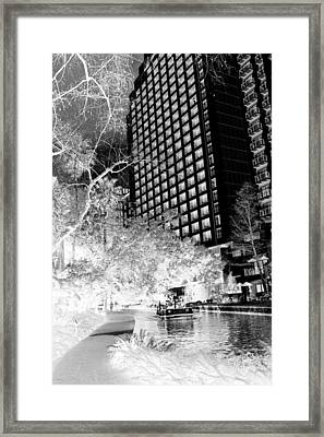 Inferred San Antonio Framed Print