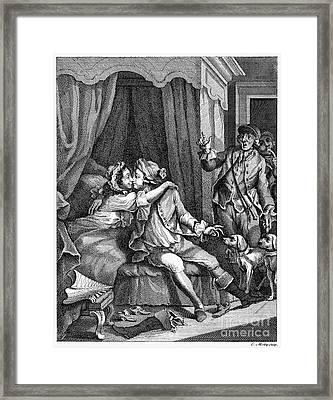 Infidelity, 18th Century Framed Print by Granger