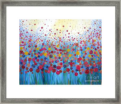 Infinite Romance Framed Print by Stacey Zimmerman