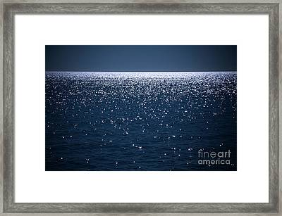 Infinite Framed Print by Rossi Love