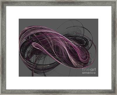 Framed Print featuring the digital art Infinity by Kim Sy Ok