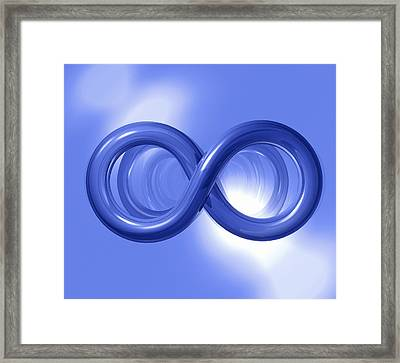 Infinity Framed Print by Roger Harris