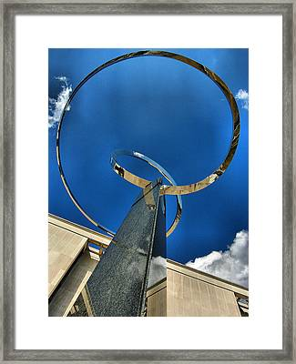 Infinity Take One Framed Print by Steven Ainsworth