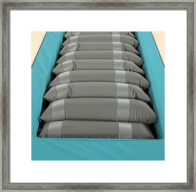 Inflated Hospital Air Mattress Framed Print by Mark Sykes