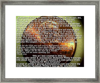 Information Microphotograph Number One  Framed Print