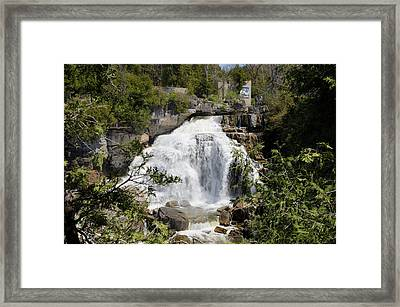 Inglis Falls 2 Framed Print by George Hawkins