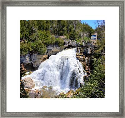 Inglis Falls Framed Print