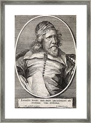 Inigo Jones, British Architect Framed Print by Middle Temple Library