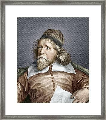 Inigo Jones, English Architect Framed Print by Sheila Terry