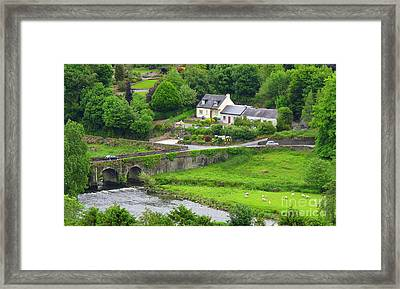 Framed Print featuring the photograph Inistioge In Ireland by Ranjini Kandasamy