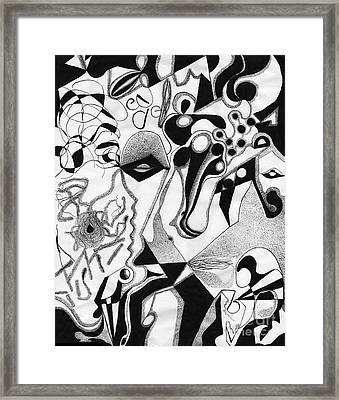 Ink Drawing 2 Framed Print by Christine Perry