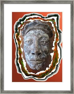 Inkman Framed Print