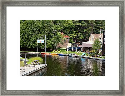 Framed Print featuring the photograph Inlet On Seven Lakes by Ann Murphy