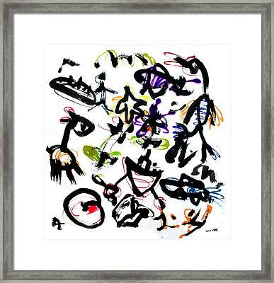 Inner Child Framed Print by Jinhyeok Lee