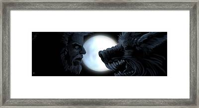 Inner Conflict Framed Print by William McDonald