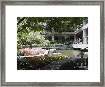 Inner Courtyard Framed Print