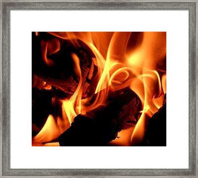 Inner Fire Framed Print
