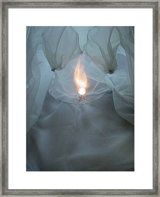 Inner Flame Framed Print by Diana Riukas