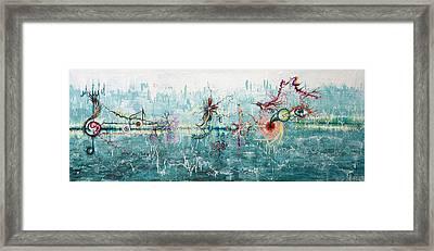 Inner Garden Framed Print by Anastassia Matsievskaia