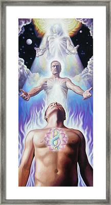 Innerselfhood Framed Print by Miguel Tio