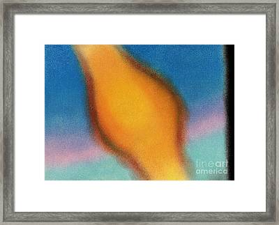 Innerspace 3 Framed Print by Christine Perry