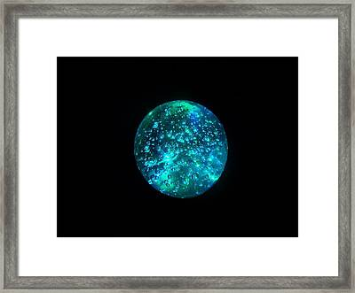 Framed Print featuring the mixed media Innersphere by YoMamaBird Rhonda