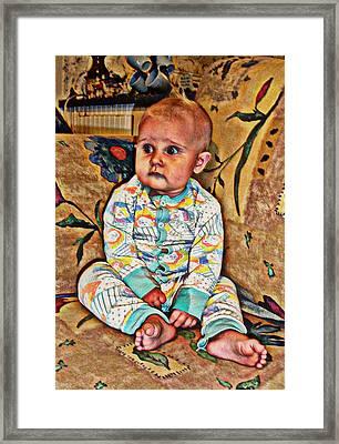Innocence 1 Framed Print by Camille Reichardt