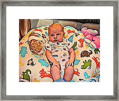 Innocence 2 Framed Print by Camille Reichardt