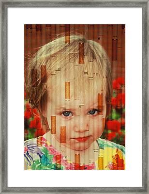 Innocence Tainted Framed Print
