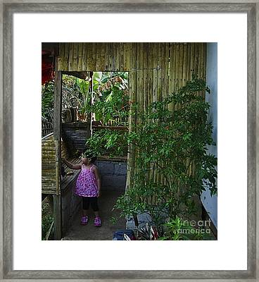 Framed Print featuring the photograph Innocence by Victoria Lakes