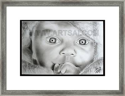 Innocent Framed Print by Punit Jain