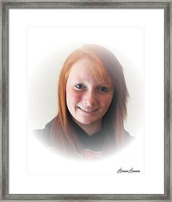 Innocents 6 Framed Print by Lorraine Louwerse
