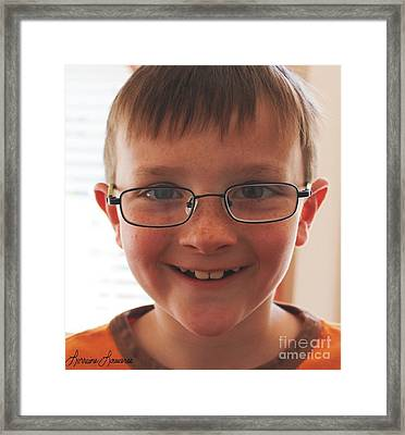 Innocents 7 Framed Print by Lorraine Louwerse