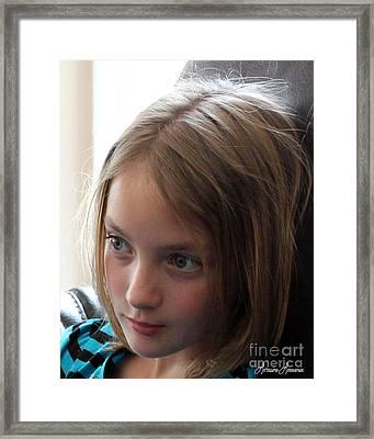 Innocents 8 Framed Print by Lorraine Louwerse
