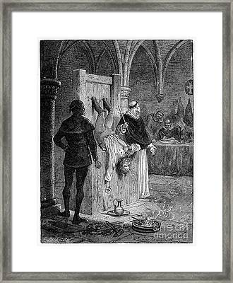 Inquisition: Torture Framed Print by Granger