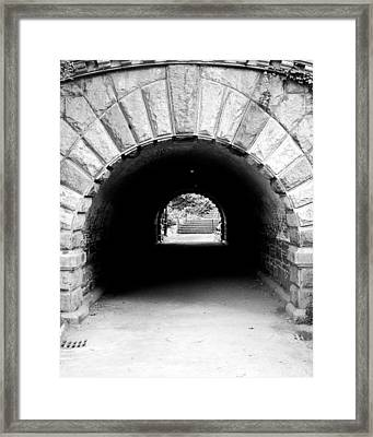 Inscope Arch Framed Print