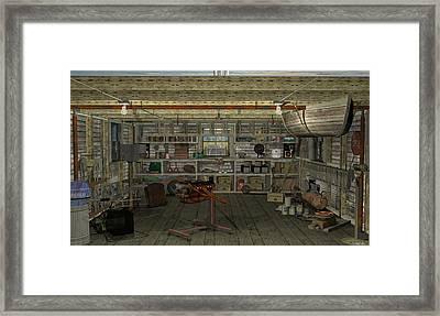 Inshed Framed Print by Robin Meade