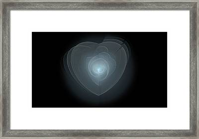 Inside A Scorned Heart Framed Print by Pennie Gibson