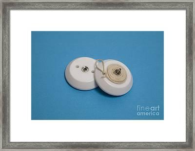 Inside A Yo-yo Framed Print