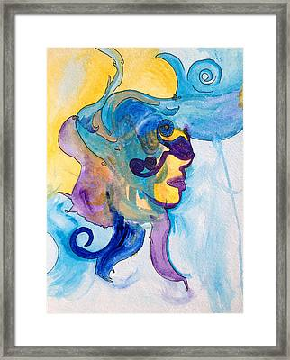 Inside Her Framed Print by Crespo