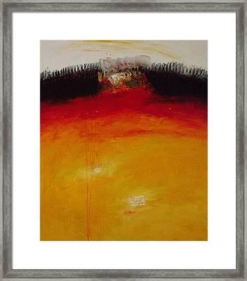 Inside  I. Framed Print by Jorgen Rosengaard